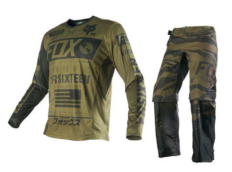 camo motocross gear fox new 2016 mx nomad union army camo green motocross dirt