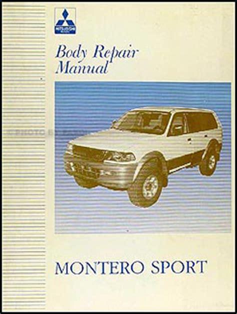 automotive service manuals 2003 mitsubishi montero sport windshield wipe control 1997 2003 mitsubishi montero sport body manual original