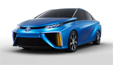 Toyota Fcv Toyota Fcv Concept Previews Fuel Cell Car Coming In 2015