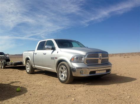 ram 1500 diesel towing 2014 ram 1500 ecodiesel half ton towing recent towing with