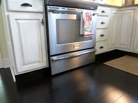 dark bamboo kitchen cabinets black bamboo floors big love i know they would show