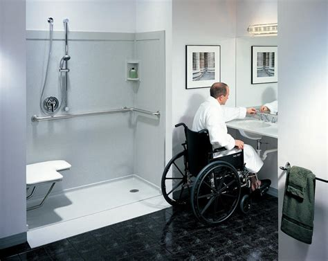 handicapped bathroom showers handicap bathrooms on pinterest handicap bathroom roll in showers and showers