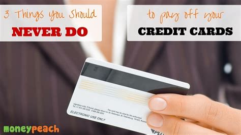 Gift Card To Pay Off Credit Card - 3 things you never do to pay off your credit cards money peach