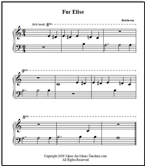 simple biography about beethoven 25 best ideas about fur elise sheet music on pinterest