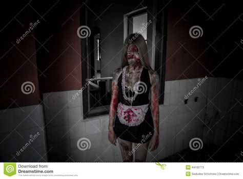 13 stories of hell haunted house scary maid ghost story of a haunted house stock photo image 44100773
