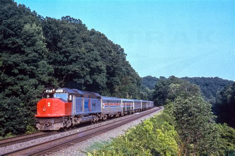 amtrak 1970 s sdp40f locomotive no 631 leading a train 1970s amtrak