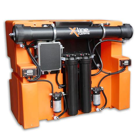 x tank 350ltr water fed pole window cleaning system