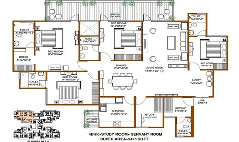 floor plans for 4000 sq ft house 4000 square foot house plans india house design plans