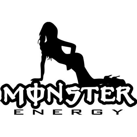 Monster Energy Aufkleber Chrom by Sticker Et Autocollant Monster Pinup