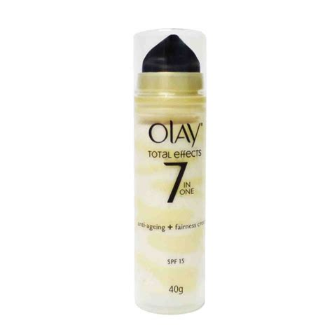 Olay Total Effect Fairness olay total effects anti aging fairness spf 15 40g