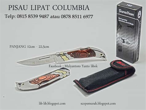 Pisau Lipat Cukur lib lib asesories senapan dan perlengkapan outdoor pisau