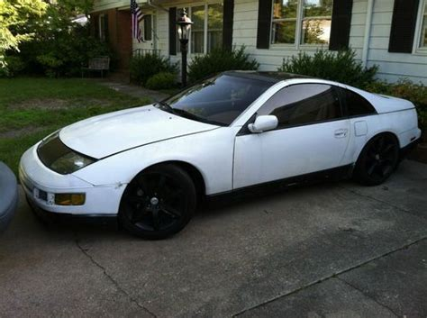 nissan 300zx white buy used 1991 nissan 300zx white in seaford delaware