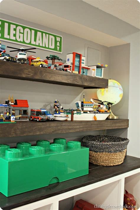 building diy wood floating shelves  thrifty decor chick