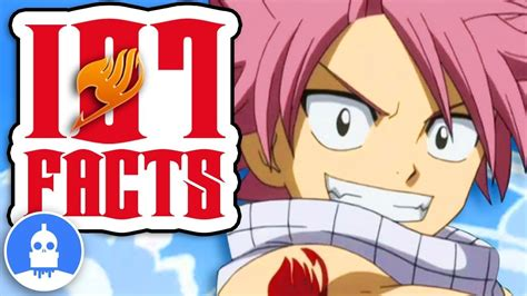fairy tail anime facts