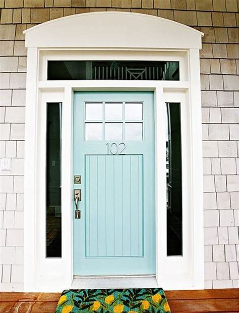 exterior door colors 21 cool blue front doors for residential homes