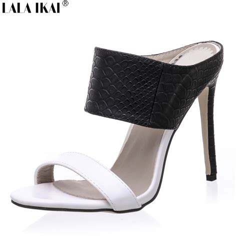 get cheap mules high heels aliexpress