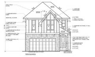 Architectural Floor Plans And Elevations Trico Homes 187 What Are Elevations