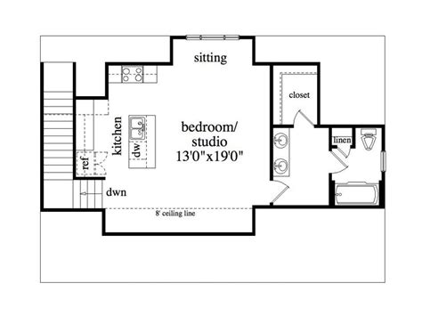 Garage Studio Apartment Plans by Garage Apartment Plans 3 Car Garage Studio Apartment