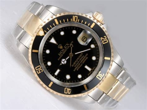 jual rolex submariner duo tone swiss clone 1 1 100