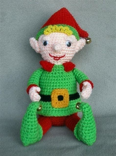 pattern for a christmas elf christmas elf by wolfdreamer crocheting pattern