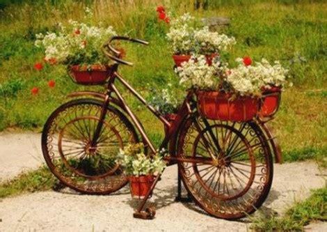 Kreative Deko Ideen by Kreative Garten Deko Ideen Mit Alten Fahrr 228 Dern