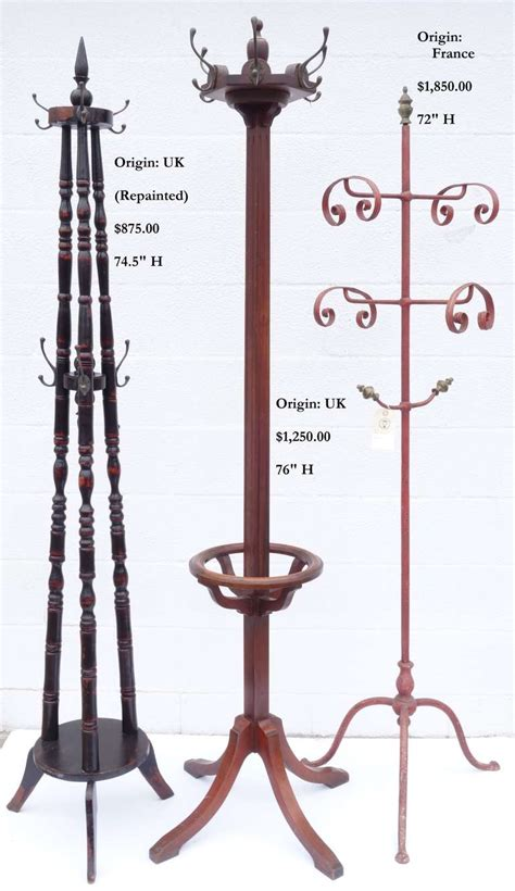 decorative standing coat rack for sale at 1stdibs coat racks for sale at 1stdibs