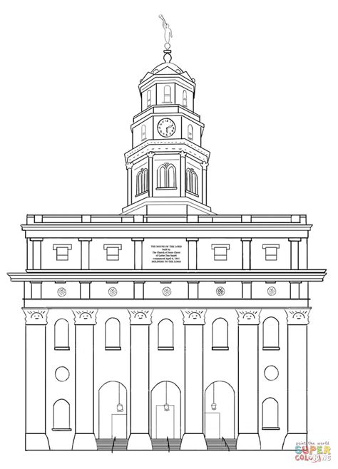 St Paul S Fourth Missionary Journey Coloring Page Free Lds Temple Coloring Pages