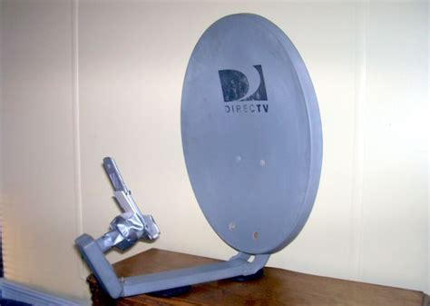 repurposed satellite dish antenna captures wi fi and cell