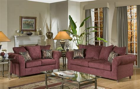 what colors go with burgundy couch burgundy fabric traditional sofa loveseat set