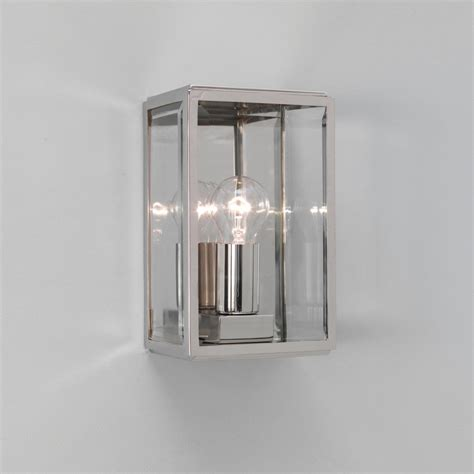 Outdoor Wall Lighting Astro Lighting Homefield Nickel 0563 Outdoor Wall Light