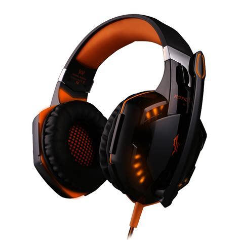 Headset Gaming Lazada kotion each g2000 gaming headphone black orange lazada