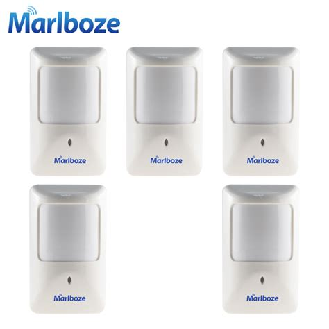 marlboze 5pcs lot p812 wired infrared motion detector for