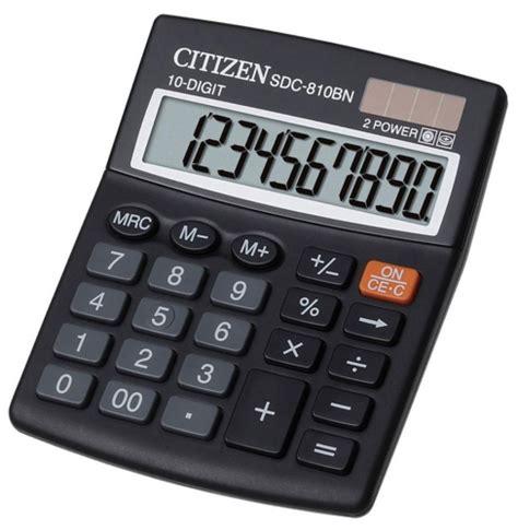 Kalkulator Citizen Sdc 805 kalkulatory kalkulator sdc 810bn citizen