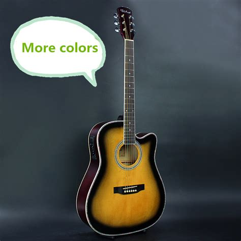 guitar colors more colors electro acoustic electric folk pop flattop