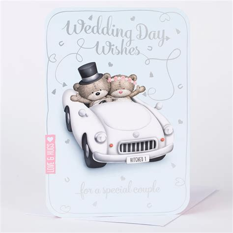 Wedding Wishes Uk by Hugs Wedding Day Card Wedding Wishes Only 99p