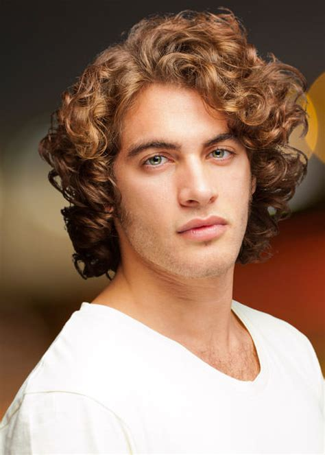 boys hair styles for thick curls trendy long hairstyles for dashing men hairzstyle com