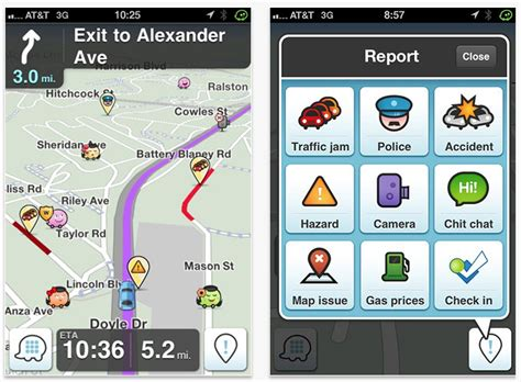 waze android app 10 best navigation apps for the iphone gadget review