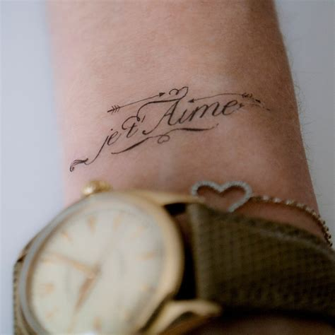 je t aime tattoo 693 best disorder recovery tattoos images on