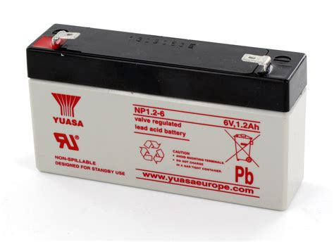 Baterai Yuasa jual aki baterai vrla ups kering maintenance free mf battery yuasa 6 v 1 2 ah baru baterai