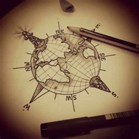 compass tattoo erweitern compass globe kompass globus tattoos und globen