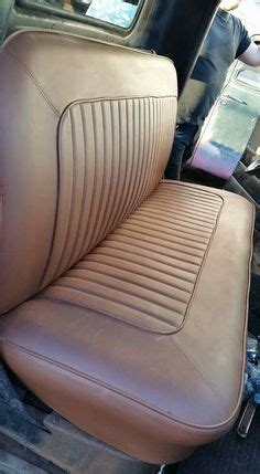 leather truck bench seat 1952 chevy pickup leather bench seat photo 9 html autos post
