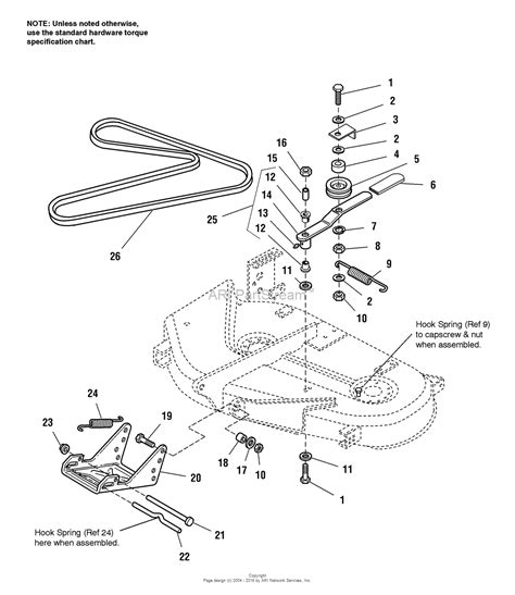 simplicity 1693078 38 quot mower deck parts diagram for 38
