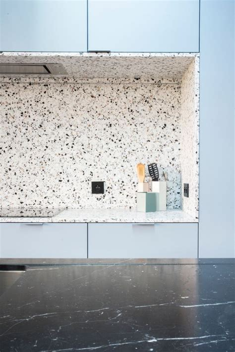 Kitchen Backsplashes With White Cabinets Trend 36 Terrazzo Design And Decor Ideas Digsdigs