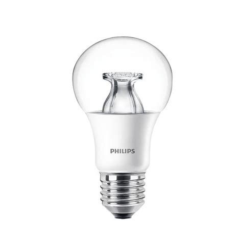 Philips Led Bulb 6w A60 philips led bulb warm glow 470lm 2200k e27 6w dimmable price comparison find the best deals