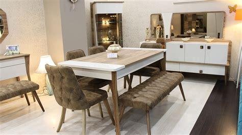 yemek masasi atlantis yemek masas箟 sandalye bench berke mobilya