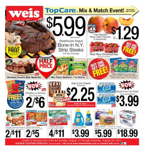 printable coupons for giant grocery store weis weekly circular grocery store