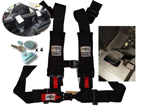 rzr seat belt pass through install 5 point harness rzr 1000 install get free image
