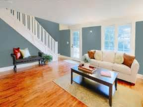 warm wood floor color cool wall color for the home