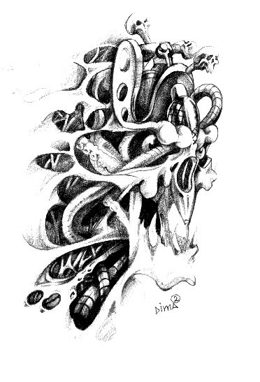 biomechanical tattoo step by step cartoon dragon heart eldonianews com