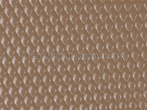 Aluminium Embossed Roofing color coated aluminum stucco embossed coil for roofing